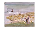 Beach  Scheveningen (Der Strand  Scheveningen)  1900