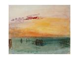 Venedig  View from Fusina  1840