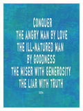 Conquer The Angry Man Giclée par Lisa Weedn
