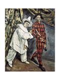 Pierrot and Harlequin (Mardi Gras)  1888