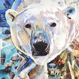 Ours polaire Reproduction d'art par James Grey