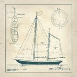 Nautical Blueprint III