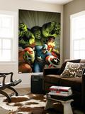 Avengers Assemble No 9: Captain America  Hulk  Iron Man  Spider Woman