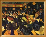 The Dance Hall at Arles  c1888