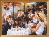 The Luncheon of the Boating Party  c1881
