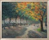 Hyde Park, Londres Art texturé encadré par Camille Pissarro