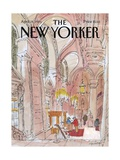 The New Yorker Cover - April 28  1986