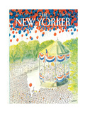 The New Yorker Cover - July 6  1987