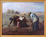 The Gleaners  c1857