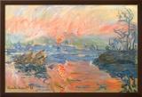 Lavacourt Sunset