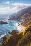 Misty Big Sur Coastline  California