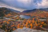 Morning Storm at Echo Lake  New Hampshire