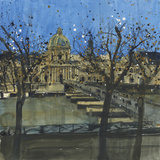 Paris in Winter  Passarelle des Arts