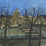 Paris in Winter  Passarelle des Arts