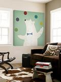 Circus Polar Bear Toile Murale Géante par Ryan Fowler