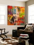 Mandela Toile Murale Géante par Micha