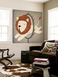 Circus Lion Toile Murale Géante par Ryan Fowler