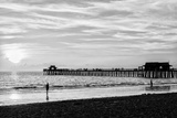 Naples Florida Pier at Sunset Papier Photo par Philippe Hugonnard