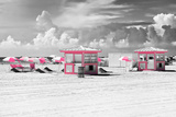 Pink Beach Houses - Miami Beach - Florida