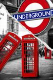Dual Torn Posters Series - London Papier Photo par Philippe Hugonnard