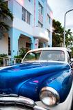 Classic Cars on South Beach - Miami Beach Art Deco Distric - Florida
