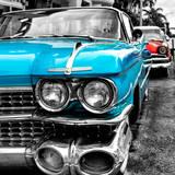Classic Cars of Miami Beach Papier Photo par Philippe Hugonnard