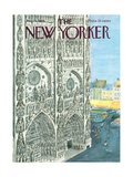 The New Yorker Cover - August 13  1966