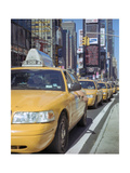 Yellow Cabs  Times Square  New York City 2