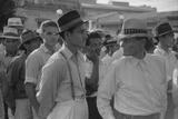Men at a Strike Meeting in Yabucoa  Puerto Rico  Jan 1942