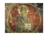 Melchizedek  Called the Ancient of Days  Fresco  1196