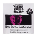 What Ever Happened to Baby Jane  from Left: Bette Davis  Joan Crawford  1962