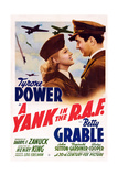 A Yank in the RAF  L-R: Betty Grable  Tyrone Power  1941