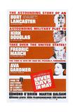 Seven Days in May  from Top: Burt Lancaster  Kirk Douglas  Fredric March  Ava Gardner  1964