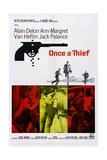 Once a Thief  Bottom Center from Left: Alain Delon  Ann-Margret  1965
