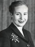 Eva Duarte De Peron  Wife of Argentine President Juan Domingo Peron