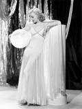 Swing Time  Ginger Rogers in Ensemble Designed by Bernard Newman  1936