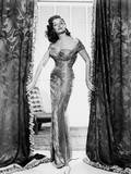 The Revolt of Mamie Stover  Jane Russell  in a Gown by William Travilla  1956