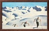 The Ascent of the Skiers (landscape)