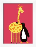 Love Between a Giraffe and a Penguin