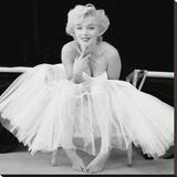 Marilyn Monroe (Ballerina) Tableau sur toile