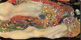 Serpents d'eau II, 1904-07 Tableau sur toile par Gustav Klimt