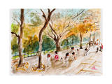Watercolor Forest Garden