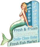Retro Mermaid Ad