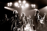 Aerosmith - Waterbury 1978 B&W