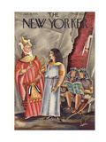 The New Yorker Cover - January 19  1935