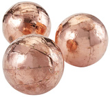 Metallic Orb Trio - Copper