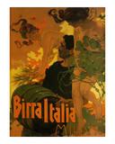 Birra Italia, c.1906 Reproduction d'art par Adolfo Hohenstein