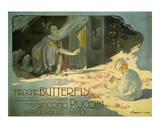 Madama Butterfly, c.1904 Reproduction d'art par Adolfo Hohenstein