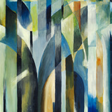 An Abstract Painting Reproduction d'art par Clivewa