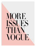 More Issues Than Vogue Peach